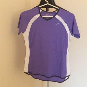 Nike Dri-fit top Lavender color.